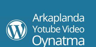 arkaplanda youtube video oynatma