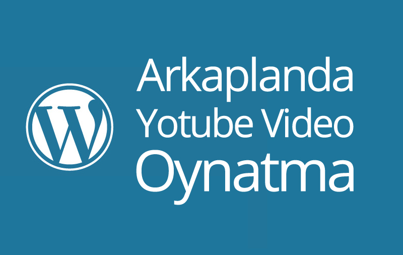 arkaplanda youtube video oynatma