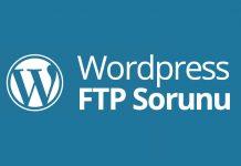 wordpress ftp sorunu