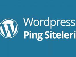 wordpress ping siteleri