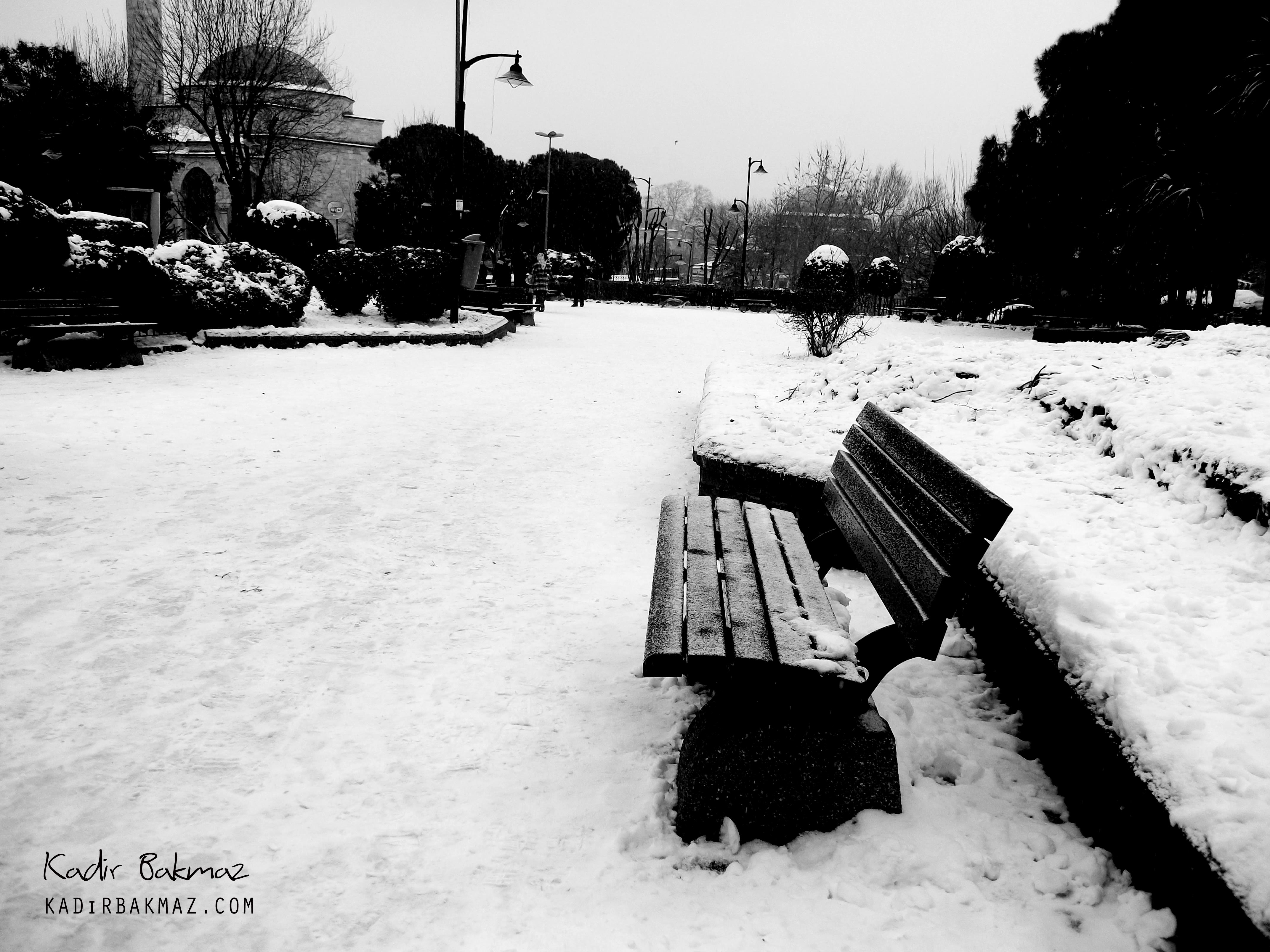 sultanahmet kış resimleri
