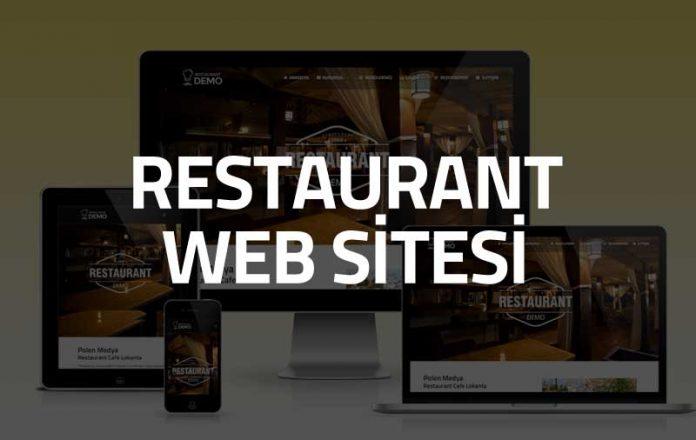 restaurant web sitesi