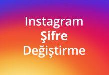 instagram şifre değiştirmek