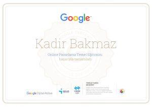dijital atölye sertifikası