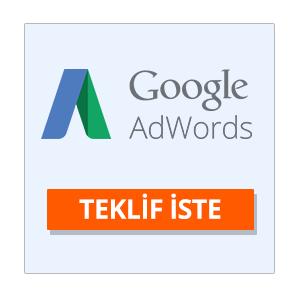 adwords teklif iste